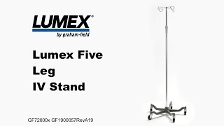 Lumex® Five Leg IV Stand Youtube Video Link