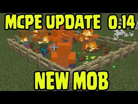 Minecraft Pocket Edition 0.14.0 Update