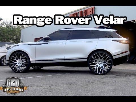 2018 Range Rover Velar 26 inch Forgiato Wheels