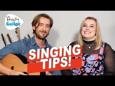 EASY SINGING TIPS FOR BEGINNERS - WHERE TO START? Ft. Megan Sayer