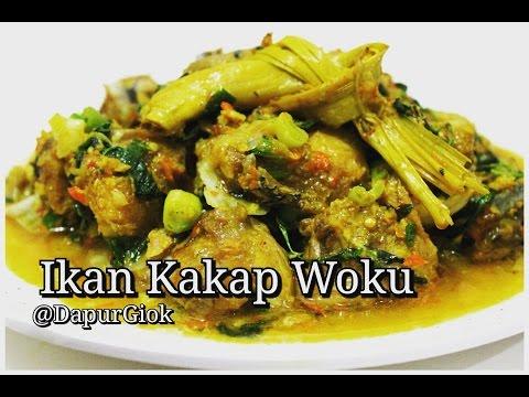 Video Ikan Kakap Woku - Resep dan Cara Membuat Ikan Kakap Woku Belanga Khas Manado