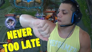 IF YOU HAVE TYLER1 ON YOUR TEAM, YOU CAN ALWAYS COME BACK [VOICE CHAT]