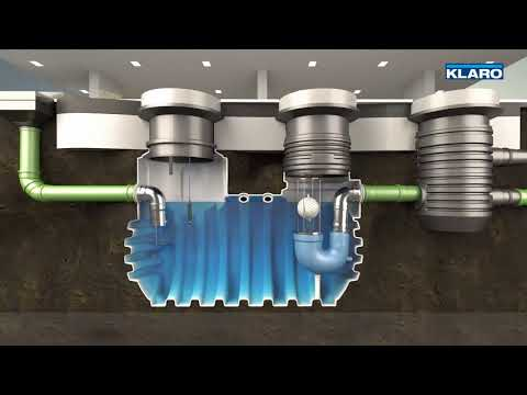 KLARO Ölabscheider / Leichtflüssigkeitsabscheider KLsepa.compact