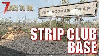 7 Days To Die - Strip Club Base (Day 7 Horde)