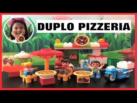 BUILDING LEGO DUPLO PIZZERIA