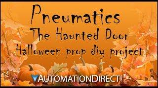 Halloween DIY How To Prop: Automated Haunted Scary Door - Click PLC Prop