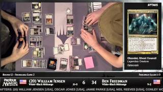 Pro Tour Magic 2015 - Round 12 (Standard) – William Jensen vs. Ben Friedman