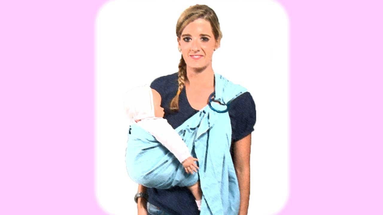 Portabebés. Llevar al bebé en una bandolera
