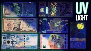 What Happens To Banknotes Under UV Light