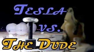 Tesla vs. The Dude @ Burning Man