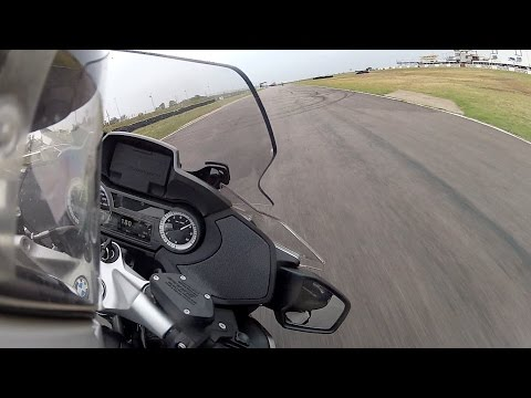 BMW R1200 RT LC Track Riding