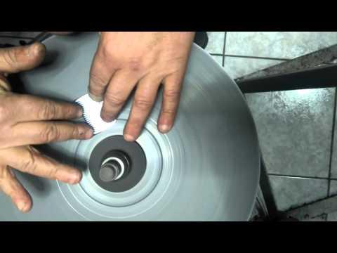 Rettifica affilatura testine per tosatrice