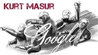 Kurt Masur Google Doodle
