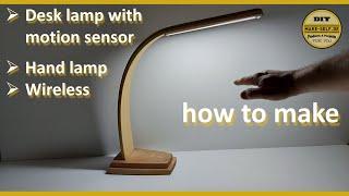 Moderne LED Schreibtischlampe aus einer alten Holzdecke selber bauen / Modern LED Desk Lamp
