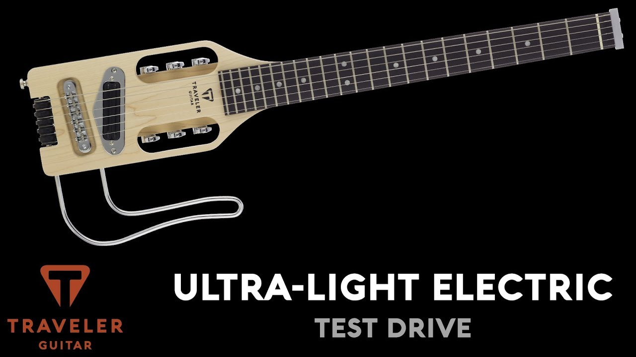 Traveler Guitar Ultra-Light Electric Product Overview and Demo