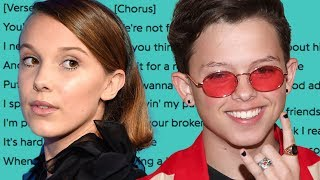 """Jacob Sartorius SHADES Millie Bobby Brown In New Song """"We're Not Friends"""""""