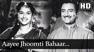 Aayee Jhoomti Bahaar…Dekho Pyar Ho Gaya (HD) - Insaniyat (1955) Song - Dev Anand - Bina Rai