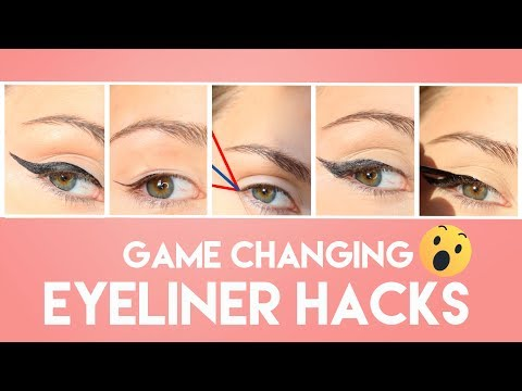 Eyeliner Hacks For Flawless Winged Eyeliner - 10 Mistakes You Didn't Know You Were Making | PEACHY