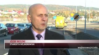 preview picture of video 'Nowe połączenie drogowe Gościcino - Wejherowo'