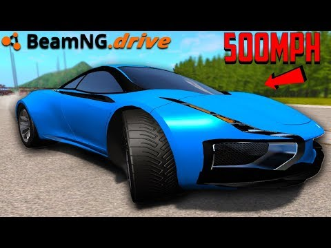 BeamNG Drive Setting A Land Speed Record