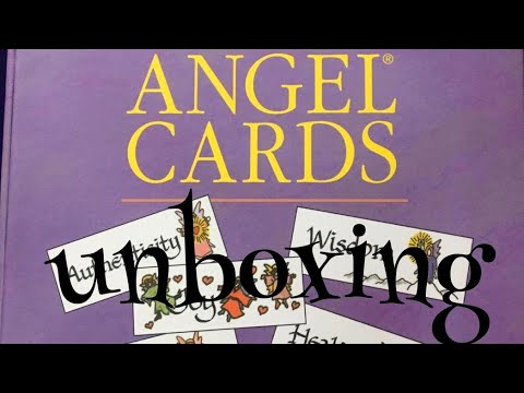 The original angel cards unboxing
