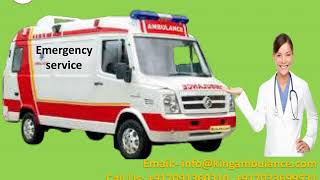 Ventilator Ambulance Service in Patna and Muzaffarpur by King Ambulance