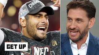 Greeny defends Jimmy Garoppolo: It can't be a coincidence the 49ers are in the Super Bowl   Get Up