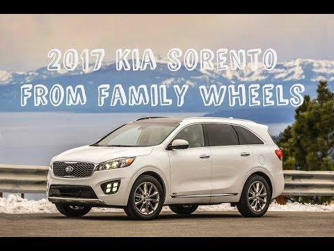 2017 Kia Sorento review from Family Wheels