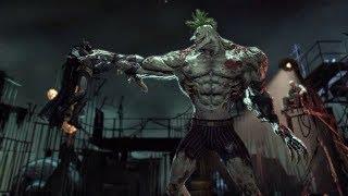 Бэтмен против Джокера под Титаном (Финальная битва) ► Batman: Return to Arkham на PS4 (Asylum)