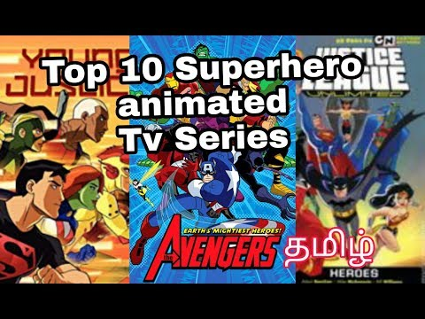 Top 10 Superhero Animated TV Series | Tamil - MSD all in one