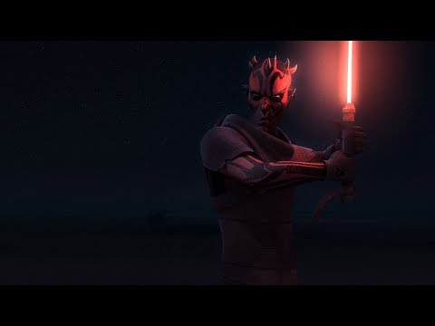 Behind The Scenes: Obi-Wan vs. Darth Maul | Star Wars Rebels