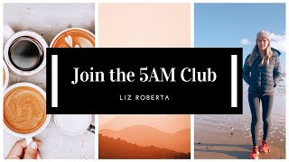 How To Wake Up Early At 5AM ⇝ The 5AM Club Morning Routine