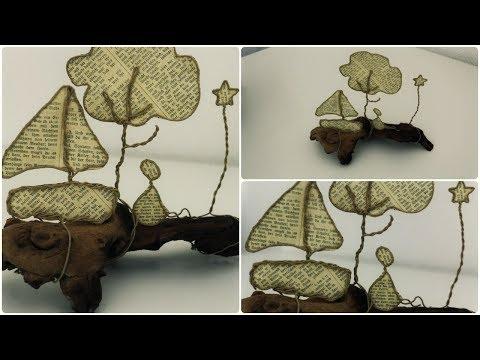 Epistyle: Draht-Skulptur * DIY * Paper Sculpture