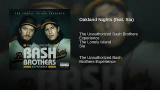 Oakland Nights   The Lonely Island Ft. Sia