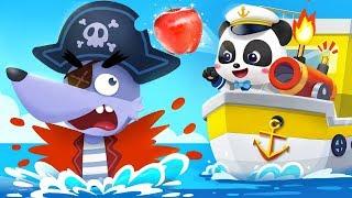 Little Captain Vs Big Bad Wolf | Nursery Rhymes | Kids Songs | Kids Cartoon | Jobs Song | BabyBus