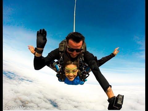 Saltando de Paraquedas em Boituva - SUPER VIP -  Instrutor Valadão