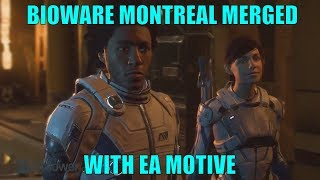 BioWare Montreal Being Merged With EA Motive