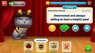 NEW LEVELS ADDED Lets play Meow match level 406 HARD LEVEL HD 1080P NEW LEVELS ADDED