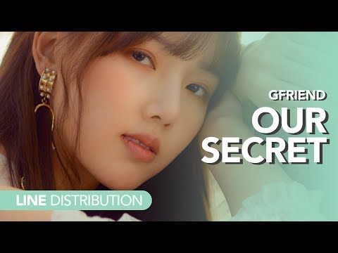 여자친구 GFriend - 비밀 이야기 Our Secret | Line Distribution