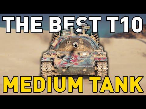 The BEST T10 Medium Tank in World of Tanks?