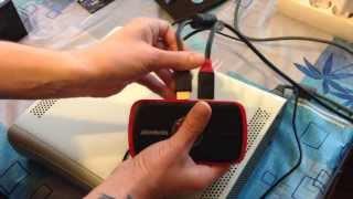 Обзор AVerMedia live gamer portable (Захват видео с xbox 360 и PlayStation 3)