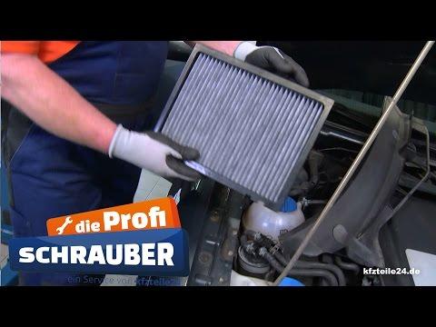 Innenraumfilter / Pollenfilter wechseln, erneuern - VW / Audi / Skoda