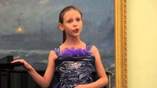 Вдохновенье в унисон Концерт класса Радмилы Михайловой 28 11 15 Полина Пулькис