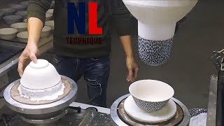 Amazing Ceramic Making Projects With Machines And Workers At High Level