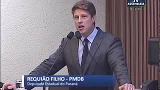 Requião Filho critica veto de Beto Richa à criação de Semana da Literatura nas Escolas