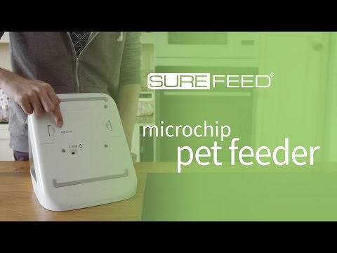 How to find the serial number on your SureFeed Microchip Pet Feeder