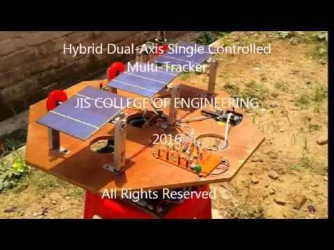 Arduino Dual Axis Solar Tracker (Multi-Tracking) - смотреть