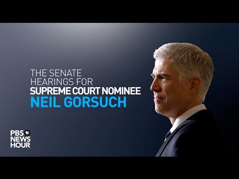 WATCH LIVE: Judge Neil Gorsuch Supreme Court confirmation hearings - Day 4