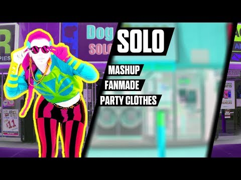 Solo - Clean Bandit  feat. Demi Lovato - Mashup - Just Dance - FanMade