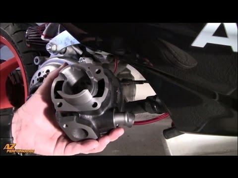 Tuto Installation d' un cylindre / piston / ARTEK K1 sur Nitro / Aérox / Ovetto / ...